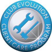club evolution client care program logo